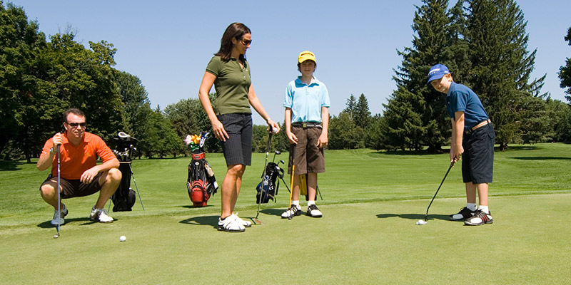 An Active Junior Golf Program