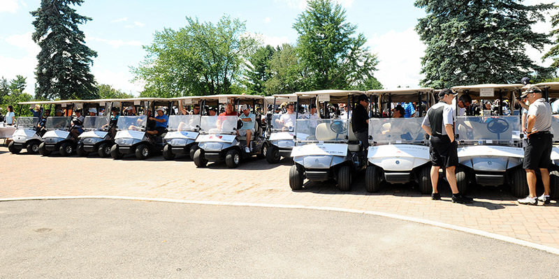 Outside Tournaments - We are proud to host only one major charity event annually.